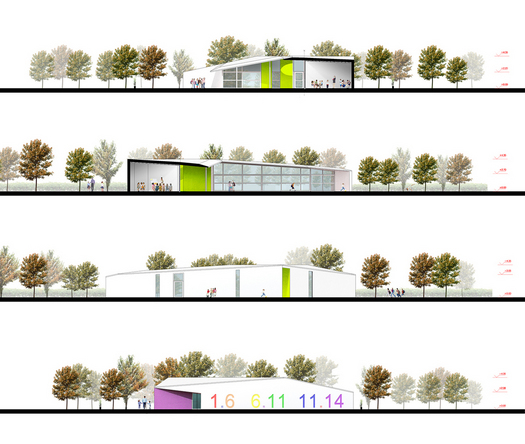 Sections and elevations © C+S Architect