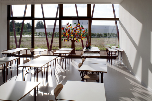 One of the classrooms