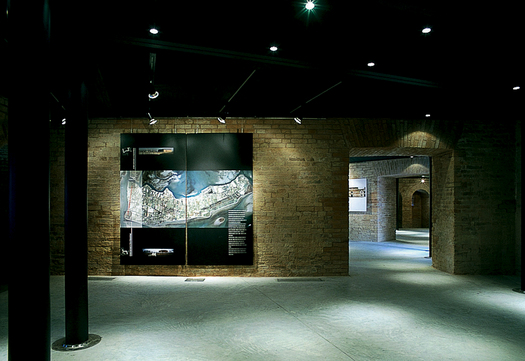 Inside view of the museum space (Photo by Paolo Barbaro)